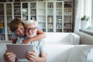 tablette + senior
